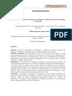 Actividad 5 - Consolidar artículo científico.