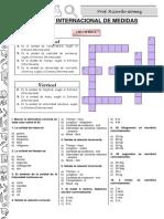 Física - Sistema Internacional de Medidas Práctica Opciones Multiples