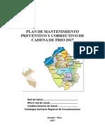 Plan de mantenimiento preventivo redes y micro redes