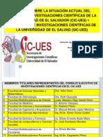 Informe SIC UES 2017