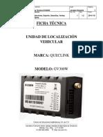 Ficha Técnica Queclink GV300 3G