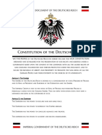 constitution of the deutsches reich
