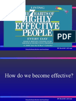 7 Habits Of Highly Effective People Ppt Covey Stephen Self