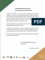 Carta Compromiso de Mentorizado - IX PM