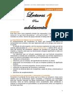 RESPUESTAS DEL LIBRO LECTURA PARA ADOLESCENTES