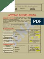 4. Actividad No. 4  Plan de Talento Humano  RRHH