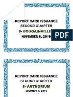 Report card issuance