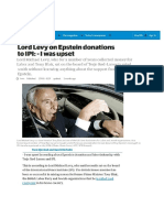 446. Lord Levy and Epstein