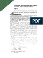 DIAGNOSTICO DEL ESTADO SITUACIONAL DE LAS MICROCUENCAS