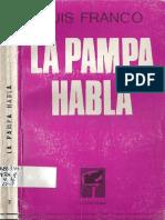 FRANCO, L., La pampa habla, Buenos Aires, La Verde Rama, 1968.pdf