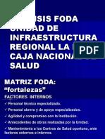 Presentacion FODA Infraestructura Regional