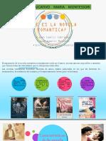 Diapositivas Novela Romantica