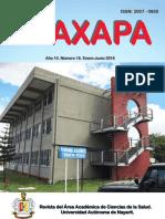 Revista Waxapa 2018