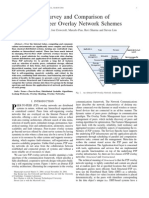 Survey of Peer to Peer Systems