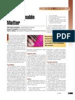 Claytronics - A programmable matter