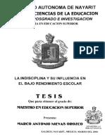 LA INDISCIPLINA Y SU INFLUENCIA EN EL BAJO RENDIMIENTO ESCOLAR.pdf