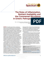 The Roles of Inflammation, Nutrient Availability and the Commensal Microbiota in Enteric Pathogen Infection.