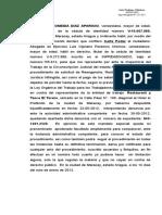 CARTA PODER DE LISBETH DIAZ INSPECTORIA DEL TRABAJO