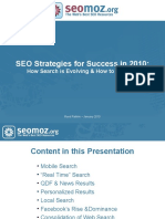 SEO Strategies for Success in 2010