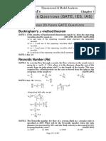 Dimensional & Model Analysis GATE(1).pdf