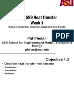MAE 589 Video 1_4 Conduction Convection & Radiation Heat Transfer