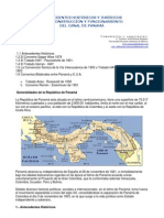 Panama Canal Historia Juridico