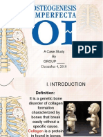 Case Osteogenesis Imperfect A