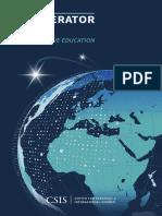 CSIS Executive Education