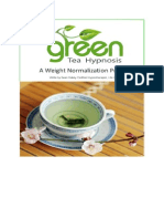 The Green Tea Hypnosis Weight Normalization Program