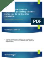 Anestesia para cirugía no cardíaca en pacientes pediátricos