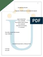 Unidad 1 Paso 2 - Diagnóstico e identificación de la necesidad de Investigación