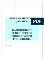 Government of Jamica Procurement Guide