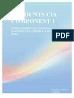 CHAHAT ACCOUNTS CIA COMPONENET 2