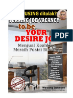 Turning Job Vacancy to Be Your Desire Job by WS V3.8MB