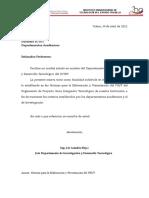 NORMAS PARA LA PRESENTACION DEL PSI