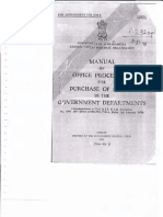 Manual Office Procedure Purchase of Store