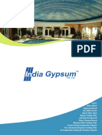 India Gypsum Brochure