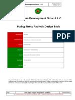 GU-706 - Piping Stress Analysis Design Basis.pdf