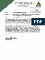 1910-14-1684 Invitation to the Mentoring for Optimal Leadership Development (MOLD) the NEOs Program (2)
