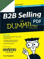 b2b for dummies