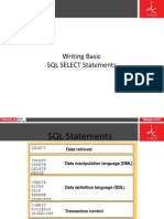 Writing Basic SQL