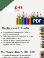 Marketing Strategy - Staples