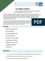 DFD-Self Help Plan