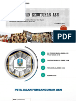 Penyusunan Kebutuhan ASN Kab. Madiun 27-28 Maret 2019