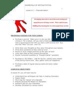 Fundamentals of Fiction - Characterization