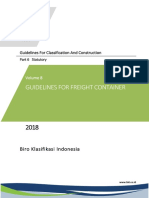 ( Vol 8 ),2018 Guidelines for Freight Container,2018