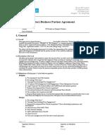Senior Partner Agreement