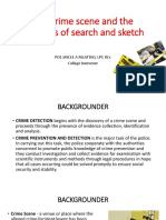 Chapter 4-Crime scene, method, search, sketch