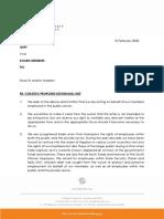 Solidariteit se brief aan die OBK oor Eskom