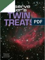 Observe winter's twin traits